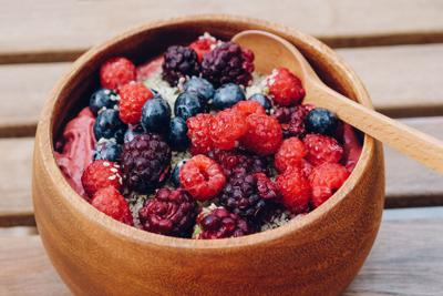 Berries Galore Acai Bowl
