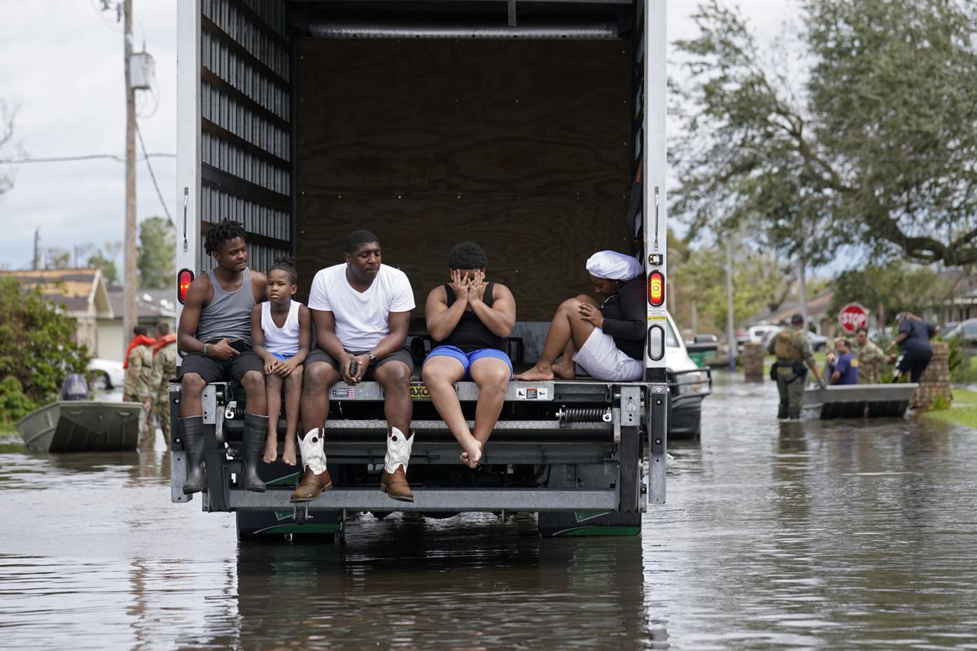 APTOPIX Severe Weather Hurricane Ida