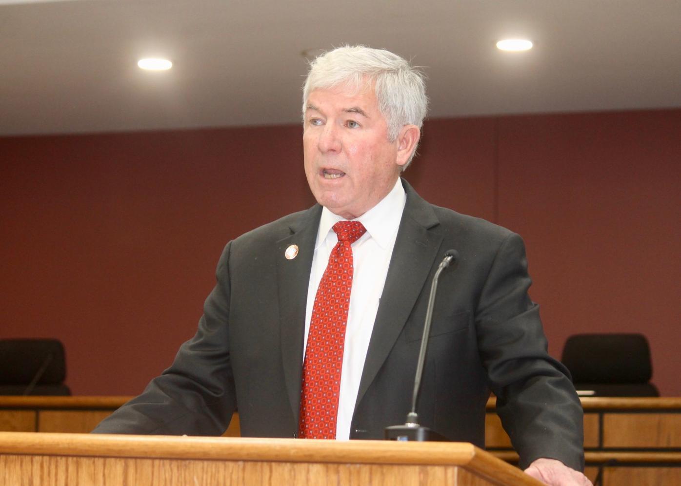 County Executive Alan McCarthy