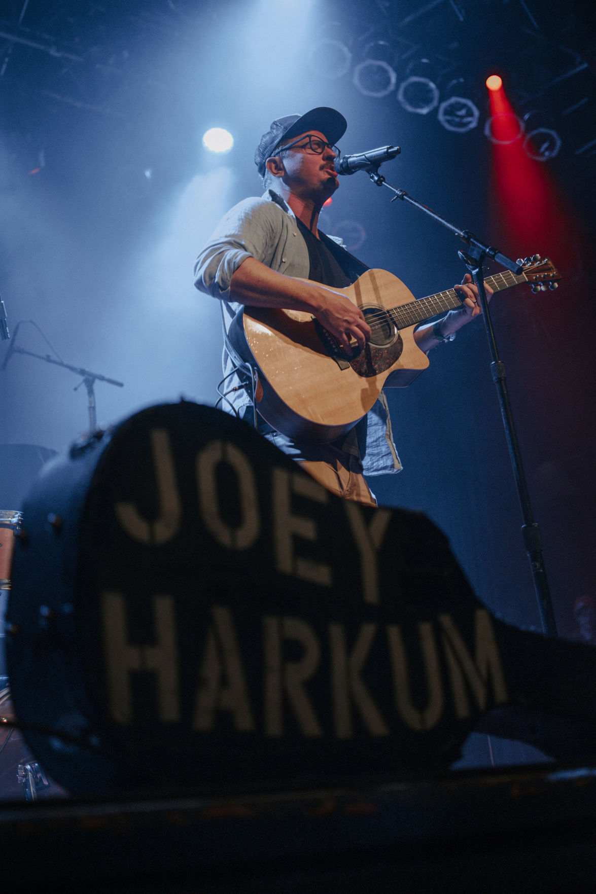 Joey Harkum performs at Rams Head On Stage