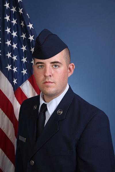 Parsons graduates from USAF basic training