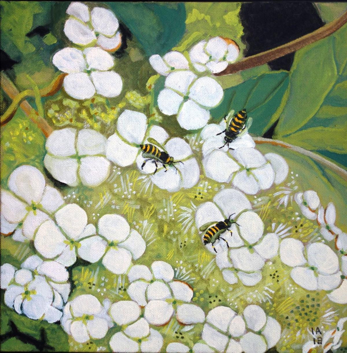 Bee Painting -- Aspell