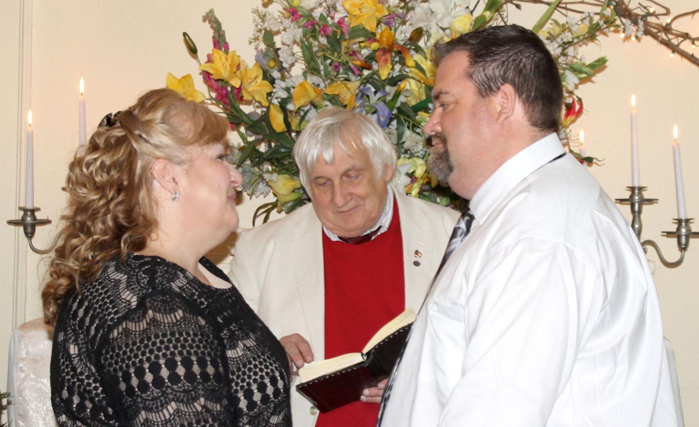 Last chapel wedding
