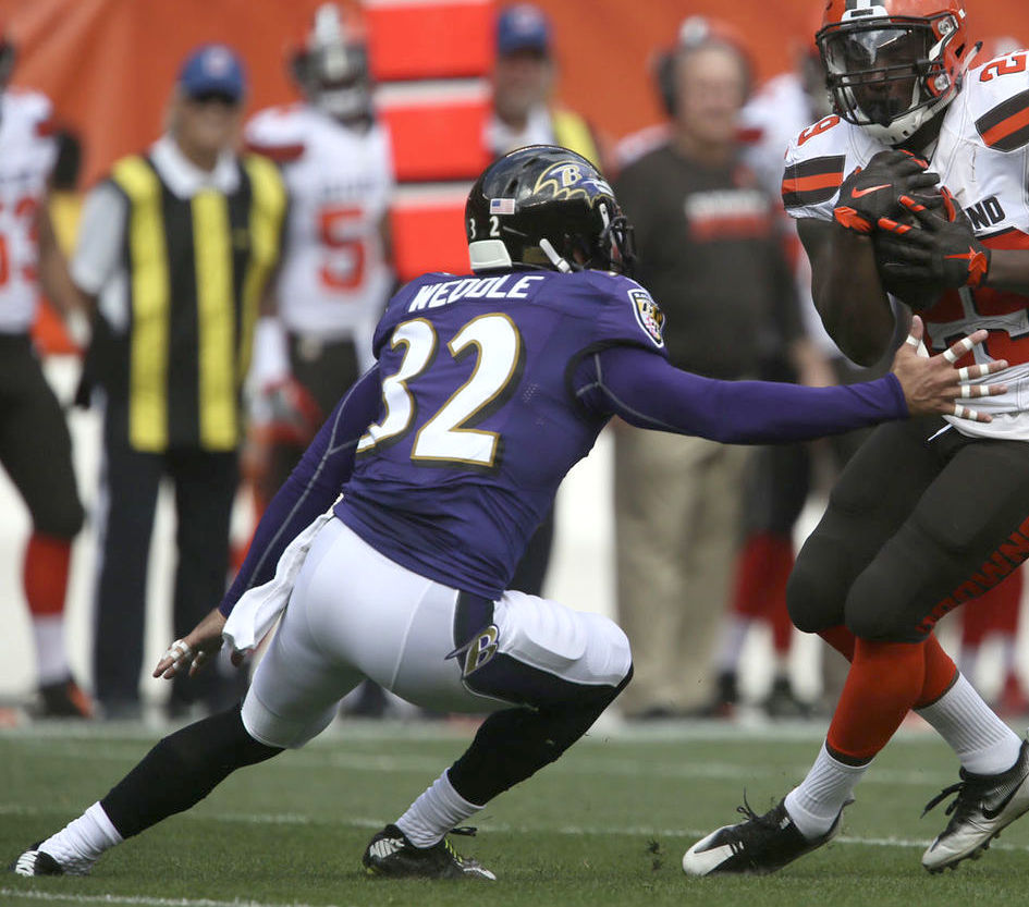 Ravens S Eric Weddle named AFC Defensive Player of the Week