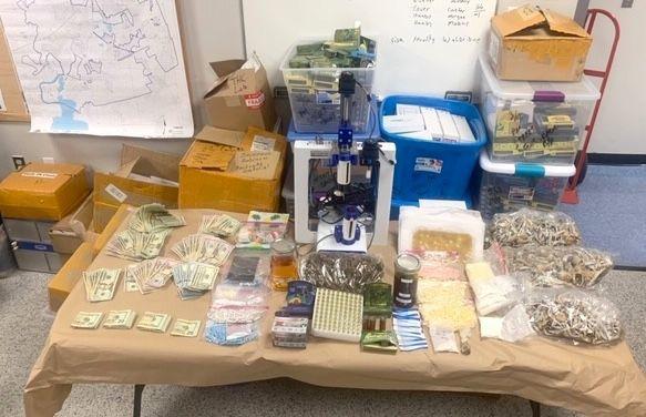 Elkton raid confiscations
