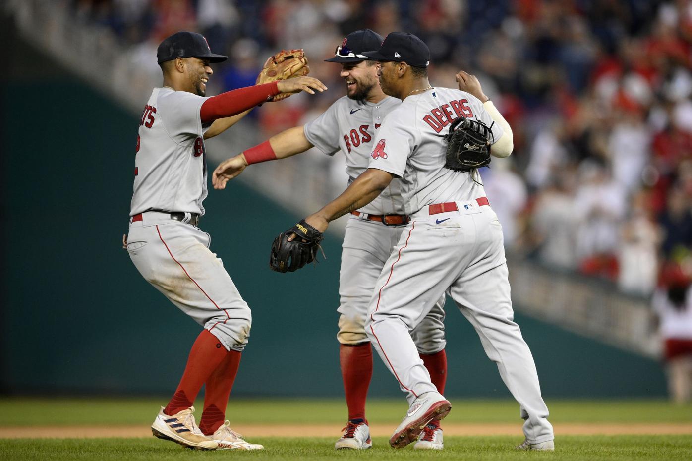 Red Sox Nationals Baseball