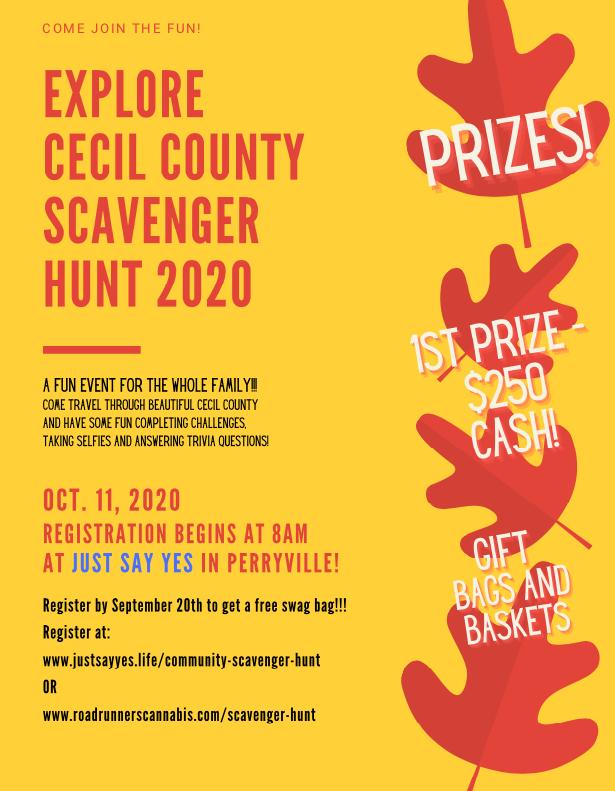 Just Say Yes! hosting free community scavenger hunt