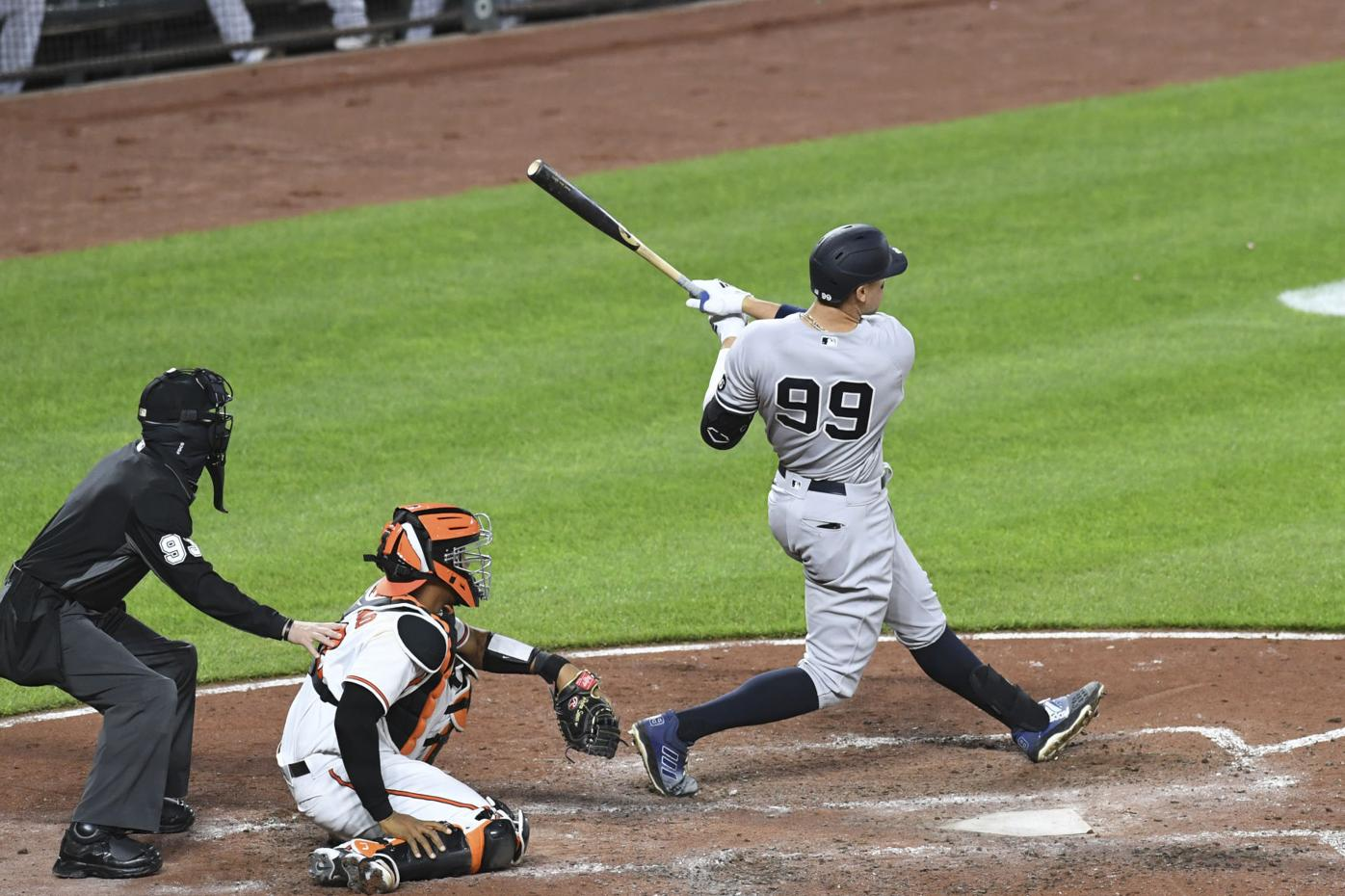 Yankees Orioles Baseball