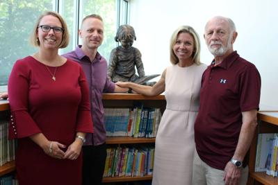 HCPL statue donation