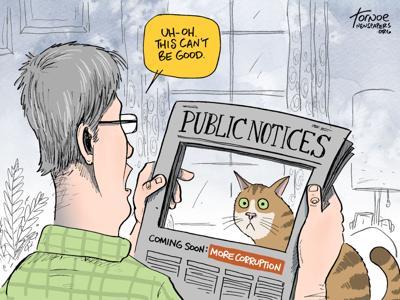 Who cares about public notices? You should.