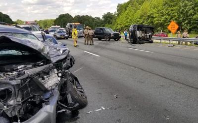 MSP trooper injured in crash