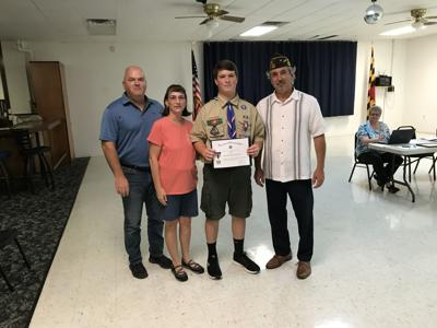 Paylor named N.E. VFW's Scout of the Year