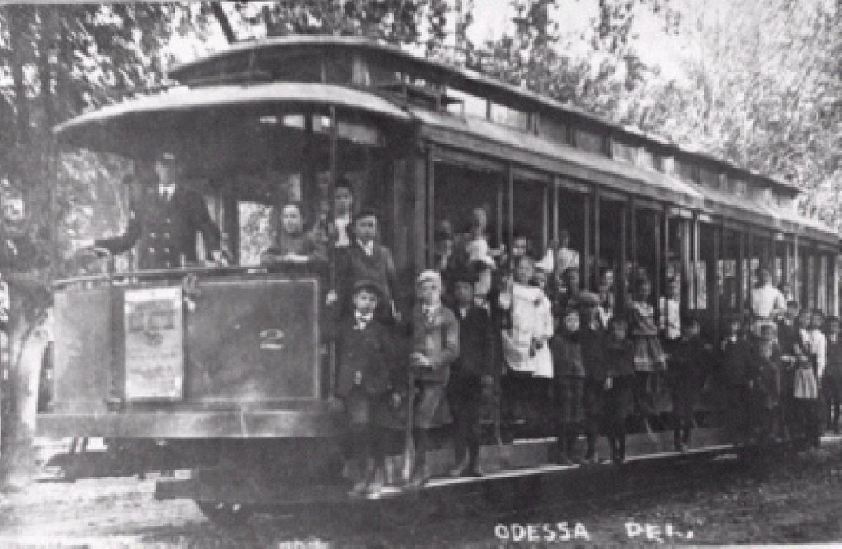 Railroad Odessa Trolley