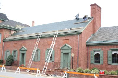 Repairs Begin On Elkton Chamber And Alliance Building