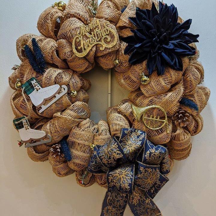 Wonderland of Wreaths welcomes bids until Sunday
