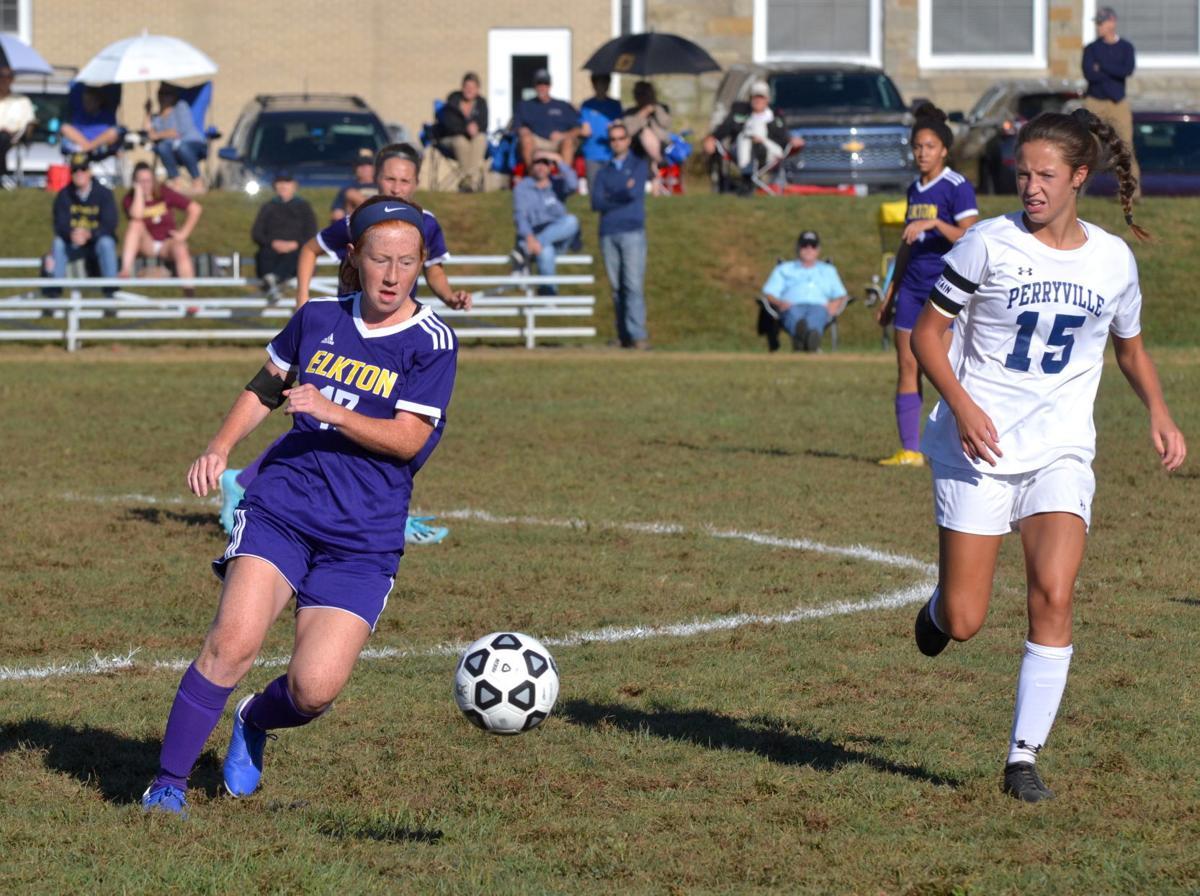 Elkton girls' soccer