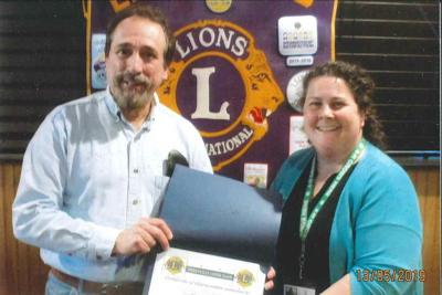 Perryville Lions Club hosts CASA speaker