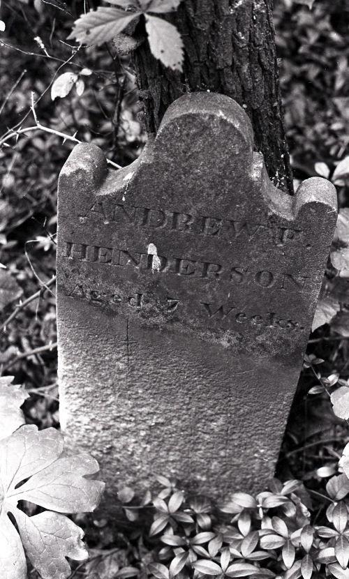 Ask Hist Soc Henderson cemetery