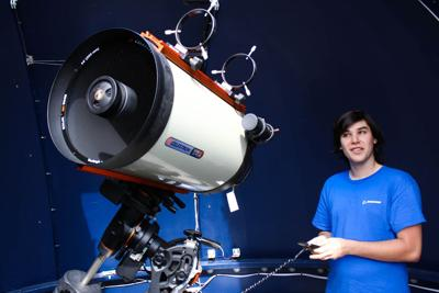 Rooke aids in Frostburg State's planetarium productions