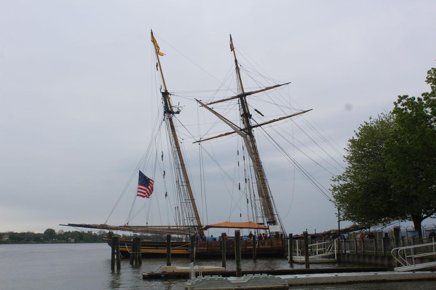 Pride of Baltimore II spends the weekend in Havre de Grace