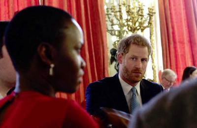 Prince Harry's mental health plea