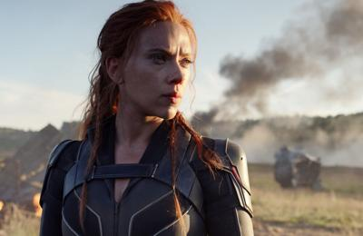 Scarlett Johansson shares Black Widow clip during MTV Movie & TV Awards