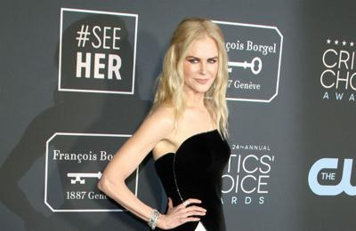 Nicole Kidman 'out of comfort zone' as Lucille Ball