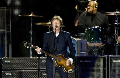 Paul McCartney says ELO's Jeff Lynne convince him to get Ringo Starr on Flaming Pie