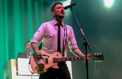 Frank Turner 'nearly cried' walking back into a music venue