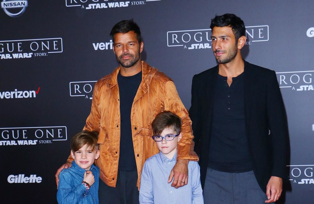 Ricky Martin wants to add to brood