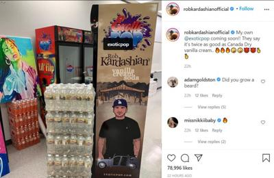 Rob Kardashian launching soda