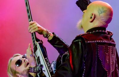 Judas Priest delay rest of tour after Richie Faulkner is hospitalised with heart issues