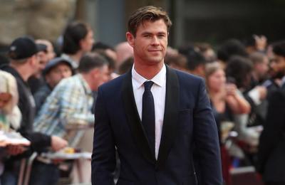 Chris Hemsworth taking a break