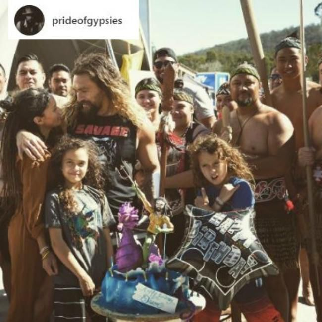 Birthday Boy Jason Momoa Celebrates With Goddess Lisa: Jason Momoa's Birthday Surprise