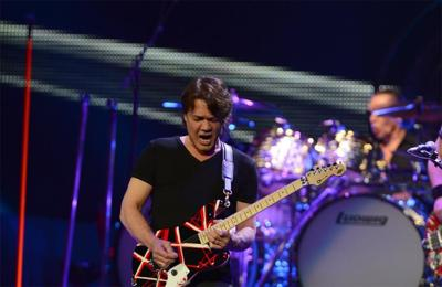 Eddie Van Halen hospitalised with cancer complications