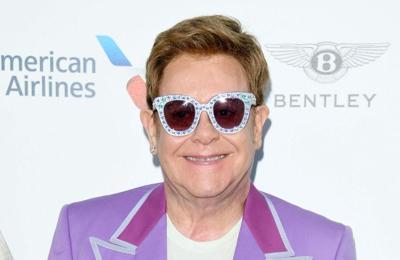 Sir Elton John's makeover for Bob Dylan