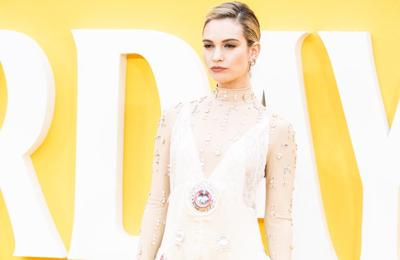 Lily James: I make mistakes 'all the time'