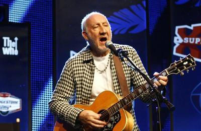 Pete Townshend will only smash guitars for charity