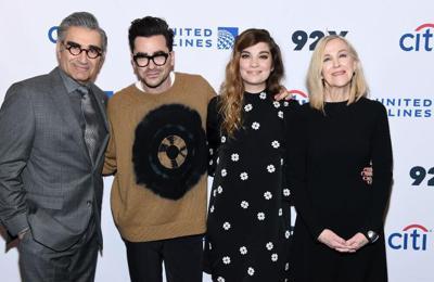 Schitt's Creek wins big at Emmy Awards