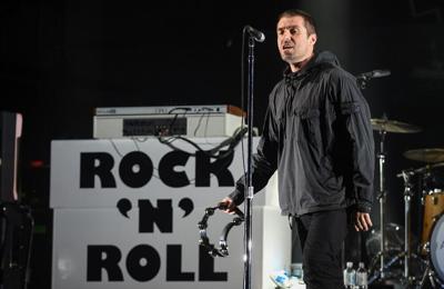 Liam Gallagher takes family on luxury staycation in Devon
