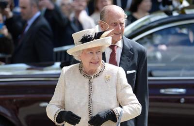 Queen marks Prince Philip's 100th birthday with planting of The Duke of Edinburgh Rose