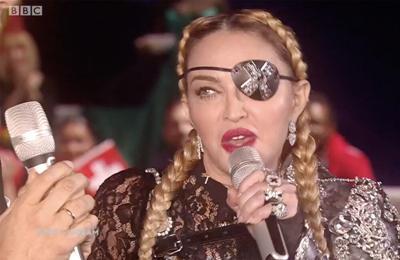 Madonna hits back at pro-gun commenter