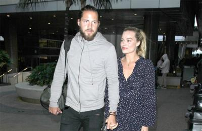 Margot Robbie likes working with hubby