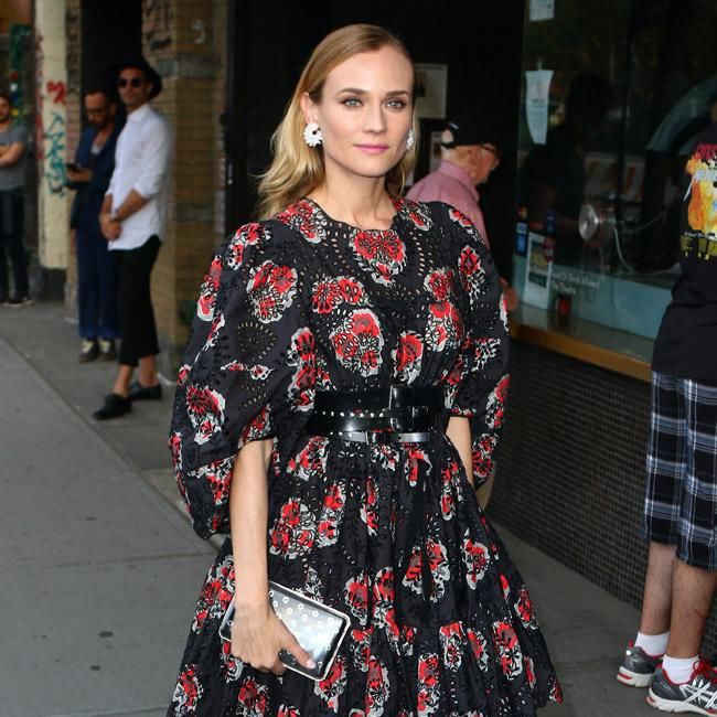 Diane Kruger's movie role led her to start smoking