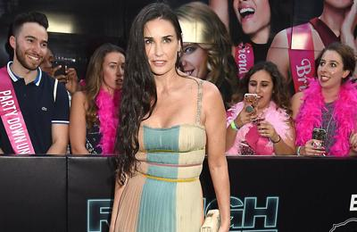 Demi Moore compares sobriety to giving birth