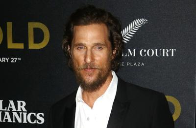 Matthew McConaughey: My memoir was a mental and spiritual exercise