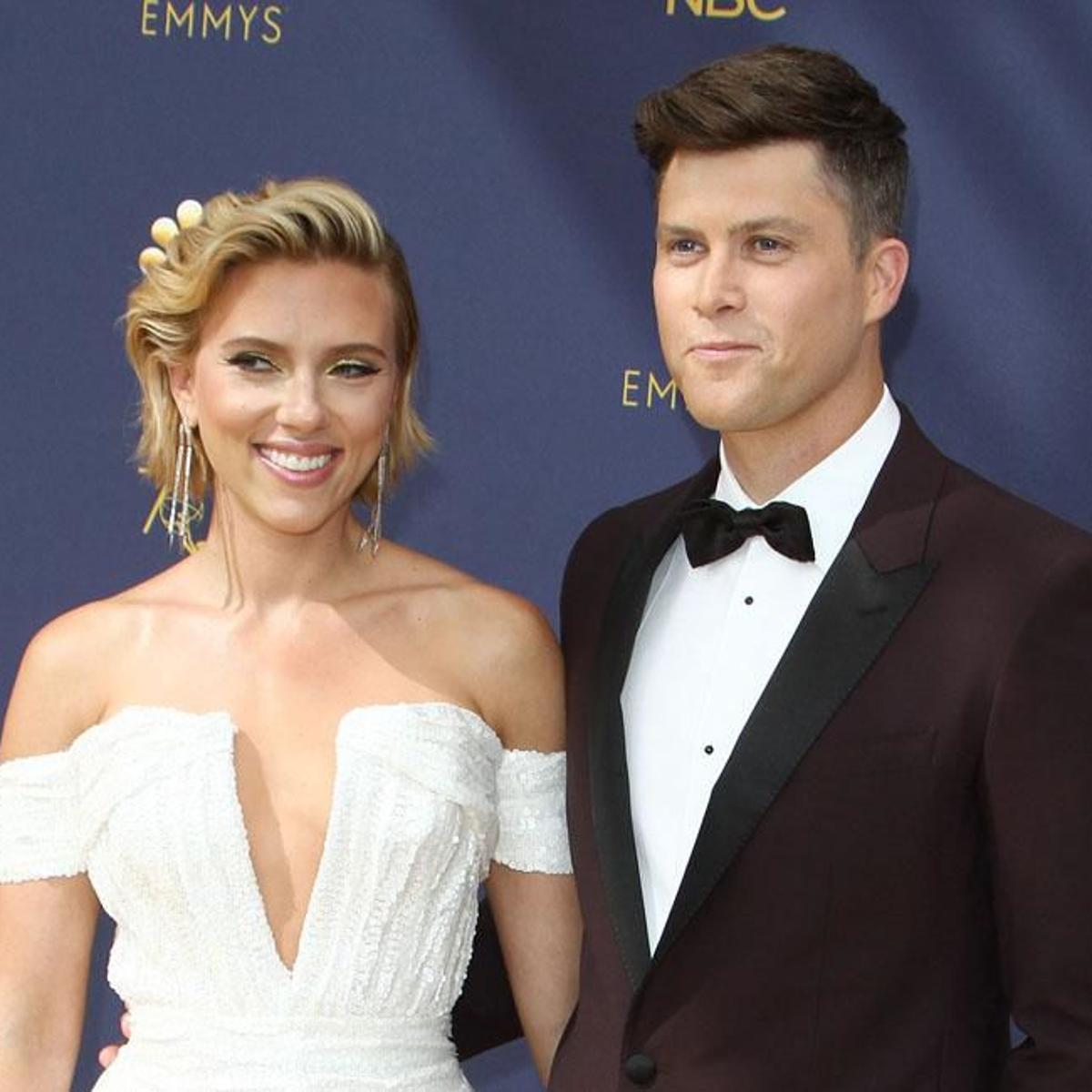 Scarlett Johansson Surprised By Colin Jost S Proposal Celebrities Celebretainment Com