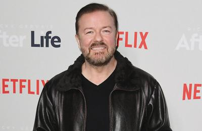 Ricky Gervais encourages comedians to joke about taboo subjects
