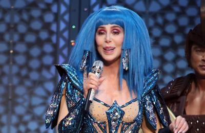 Cher's socially-distanced surprise party