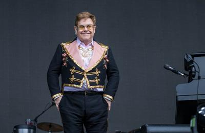 Sir Elton John postpones tour after injuring hip